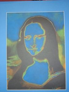 "My version of ""Mona Lisa"""